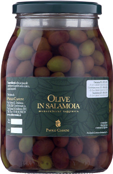 Taggiasca olives in brine 700g.