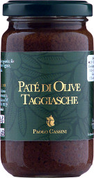 Taggiasca olives Pate' 180g.